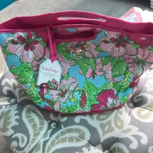 Lily Pulitzer beverage bag